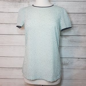 French Connection Pastel Green Blouse